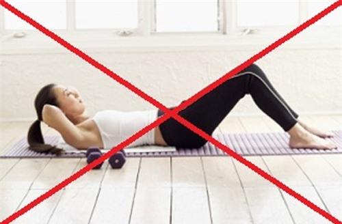 sai lầm sau khi tập thể dục