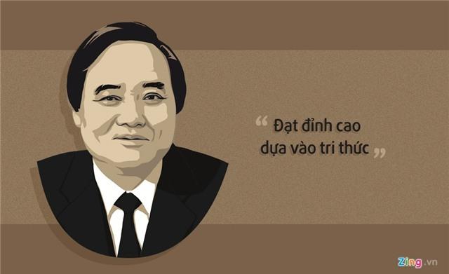 10 phat ngon an tuong cua Bo truong Phung Xuan Nha hinh anh 10