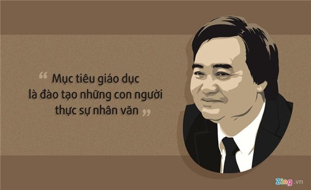 10 phat ngon an tuong cua Bo truong Phung Xuan Nha hinh anh 2