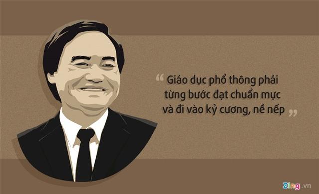 10 phat ngon an tuong cua Bo truong Phung Xuan Nha hinh anh 5