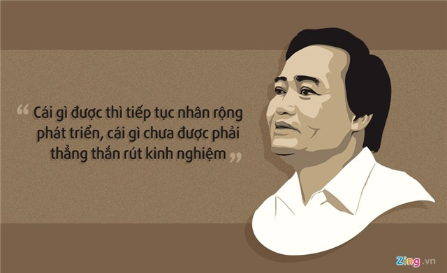 10 phat ngon an tuong cua Bo truong Phung Xuan Nha hinh anh 6