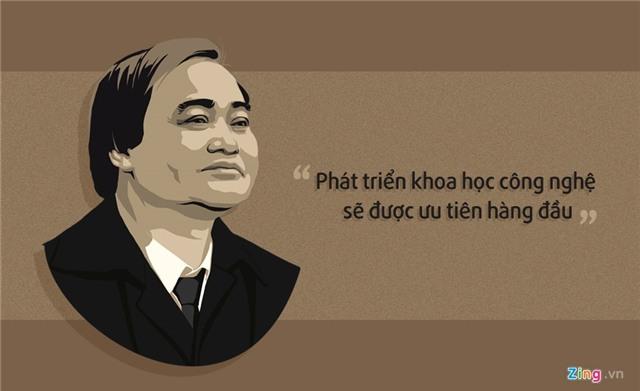 10 phat ngon an tuong cua Bo truong Phung Xuan Nha hinh anh 7