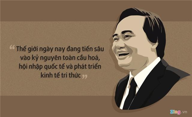 10 phat ngon an tuong cua Bo truong Phung Xuan Nha hinh anh 8