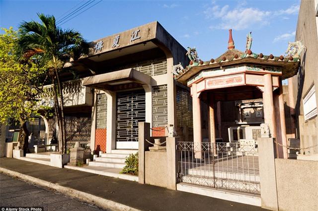 Toàn cảnh khu biệt thự xa hoa dành cho người chết tại Philippines - Ảnh 6.