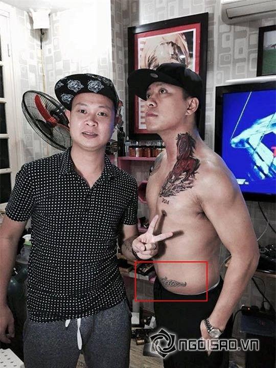 Sao nam Việt xăm hình  3
