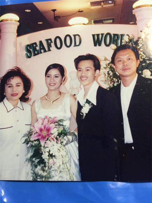 Chuyện tình bí mật của Hoài Linh và người vợ đẹp như hoa hậu - Ảnh 1.