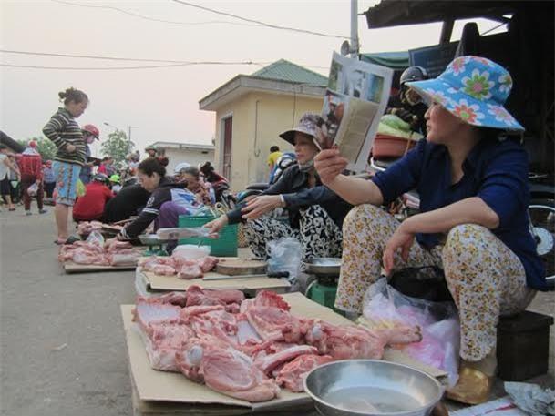 Thịt đã tăng từ 10-15.000 đồng/kg.