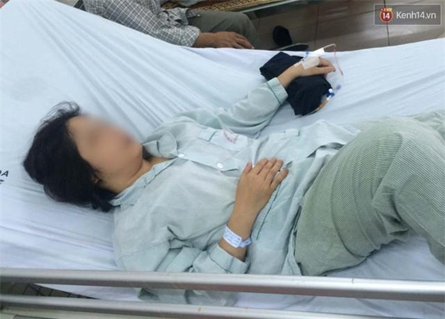 """Hà Nội: Người phụ nữ """"tố"""" bị chồng cũ chặn đường đánh phải nhập viện - Ảnh 1."""