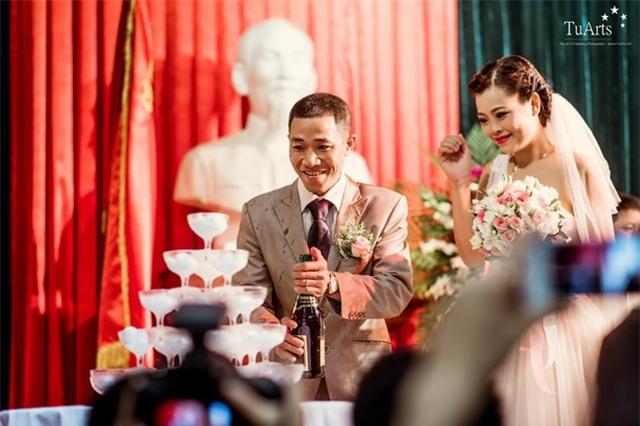 Đám cưới cổ tích trong bệnh viện của người phụ nữ mắc bệnh tan máu bẩm sinh - Ảnh 3.