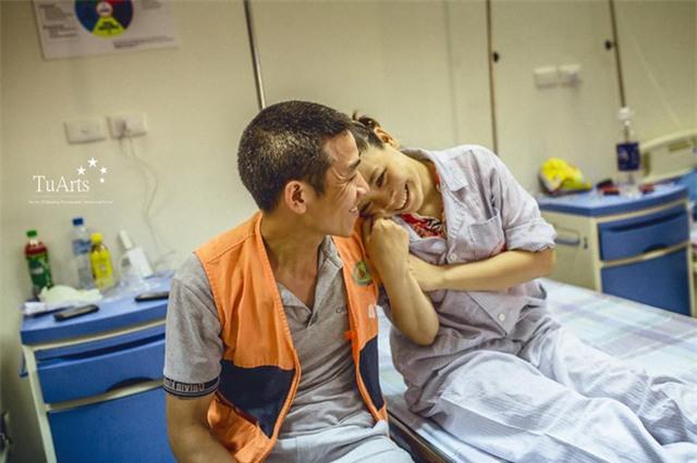 Đám cưới cổ tích trong bệnh viện của người phụ nữ mắc bệnh tan máu bẩm sinh - Ảnh 4.