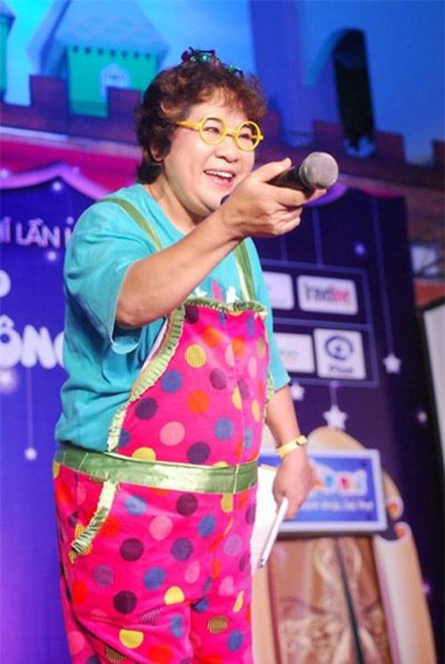 Nghệ sĩ Minh Vượng luôn lạc quan dù mang nhiều bệnh tật trong người.