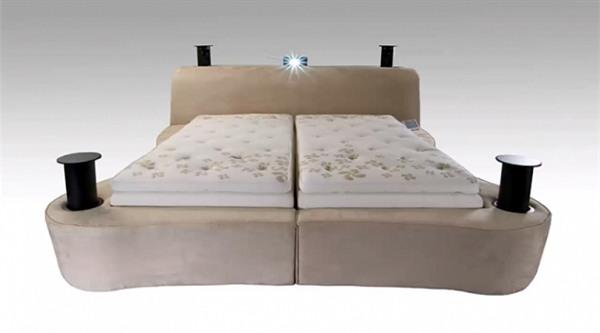 giường ngủ, giường ngủ xa xỉ, đại gia