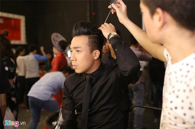 Hari Won che mat den ung ho Tran Thanh tai Got Talent hinh anh 1