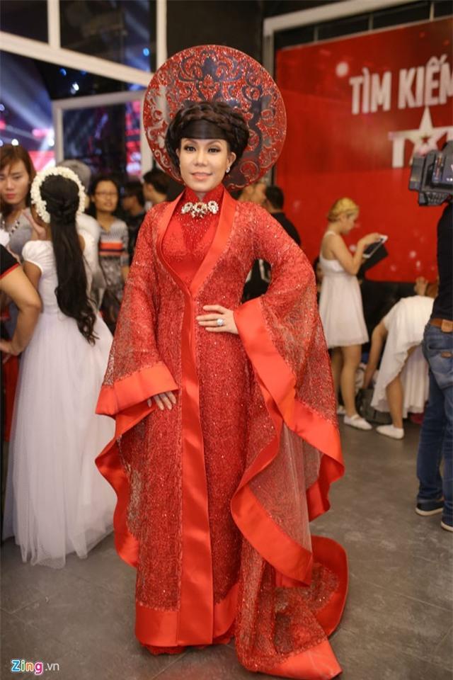 Hari Won che mat den ung ho Tran Thanh tai Got Talent hinh anh 5