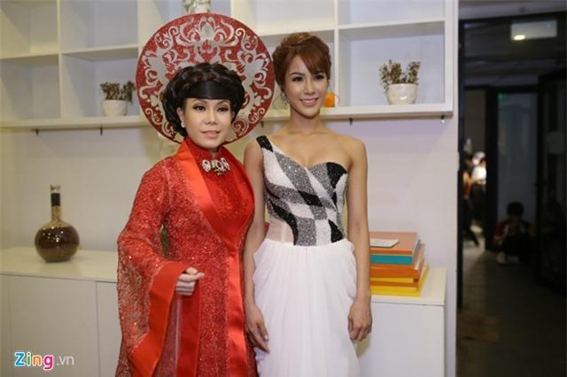 Hari Won che mat den ung ho Tran Thanh tai Got Talent hinh anh 6