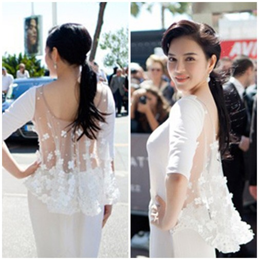Boc mac vay hang hieu cua Ly Nha Ky tai Cannes 2013 hinh anh 6