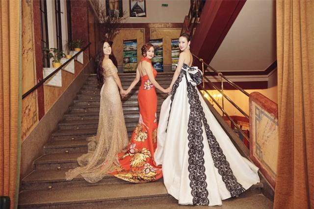 Angela Phương Trinh diện váy lộng lẫy xuất hiện tại Czech - Ảnh 6.