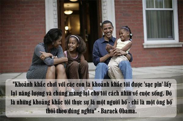 Obama dạy con