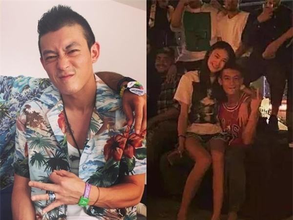 Trần Quán Hy bị tung ảnh hôn môi thắm thiết siêu mẫu Victorias Secret đã có chồng - Ảnh 3.