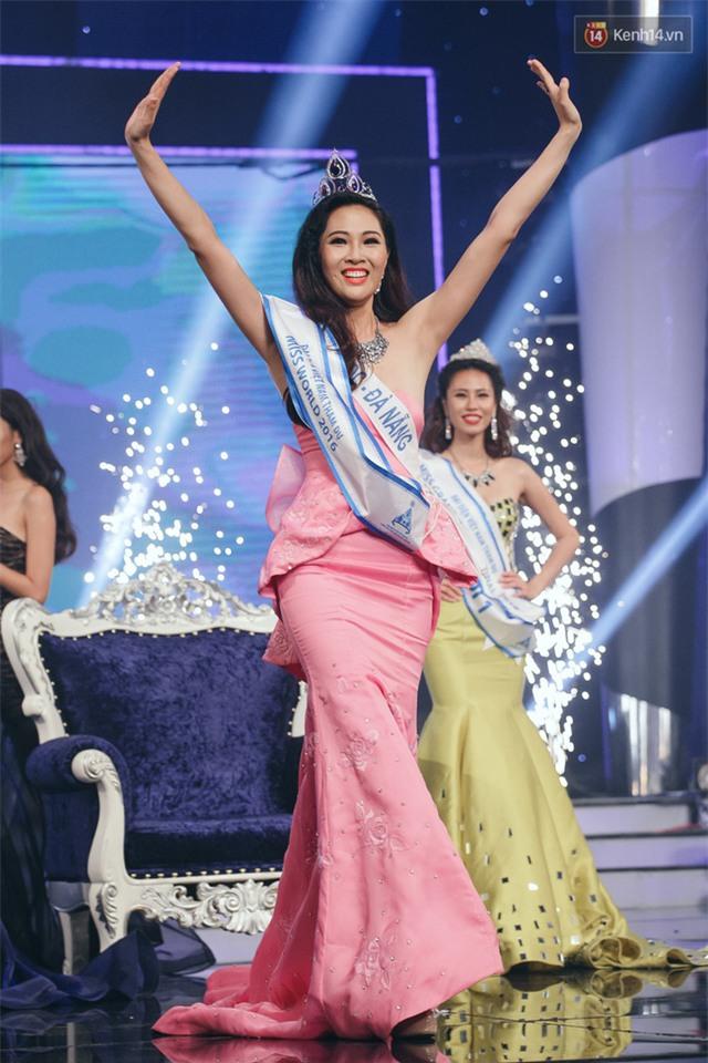 Diệu Ngọc chiến thắng, là đại diện của Việt Nam thi Hoa hậu Thế giới 2016 - Ảnh 3.