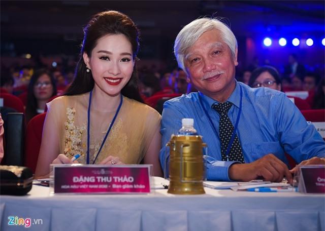 Dang Thu Thao long lay di cham thi Hoa hau Viet Nam hinh anh 10