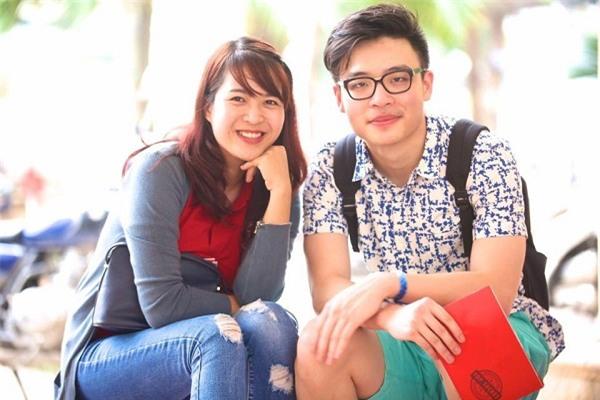Nguyễn Ngọc Minh (phải)