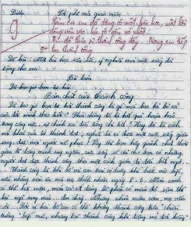 Bài văn lạ của nữ sinh lớp 10 khiến triệu người thức tỉnh - Ảnh 1.