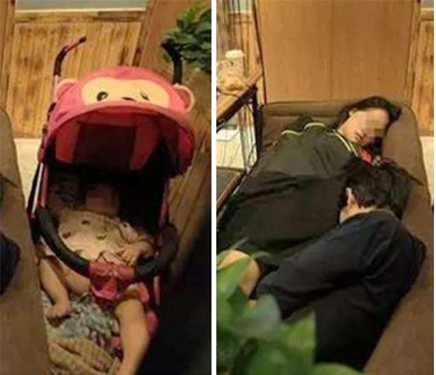 Vợ chồng trẻ thất nghiệp mang con ra quán net chơi game qua ngày - Ảnh 2.