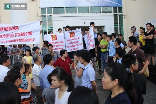 Náo loạn tại Big C Đà Nẵng: Chủ tòa nhà chống lệnh của tòa án? - Ảnh 2.