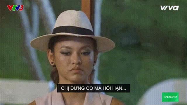 Mai Ngo biu moi, liec mat khi bi Lan Khue che o The Face hinh anh 2