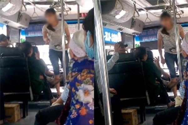 Clip: Nữ nhân viên xe buýt quát mắng, đuổi vị khách lớn tuổi xuống xe chỉ vì 5.000 đồng - Ảnh 2.