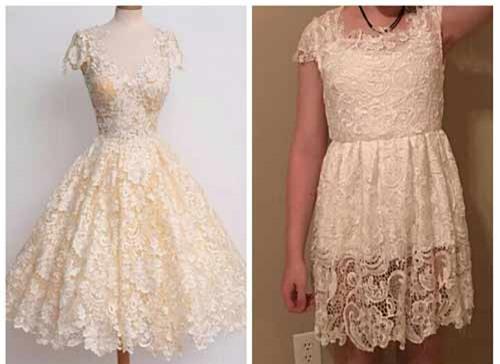Có ý tốt mua váy online ủng hộ bạn, cô gái vẫn nhận