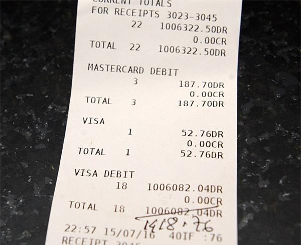 nhà hàng, hóa đơn, thanh toán, chặt chém,