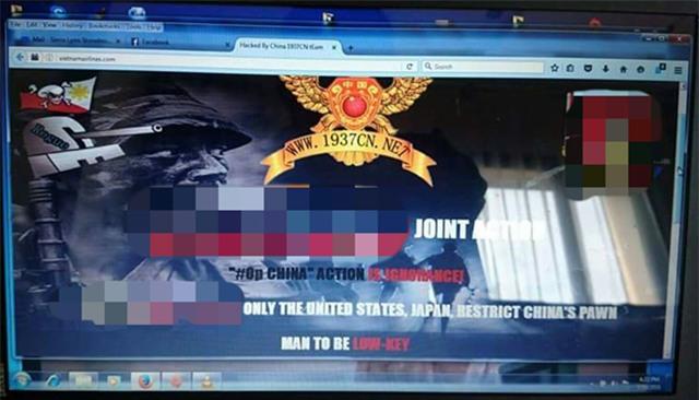 Lo hong trang web Vietnam Airlines da duoc canh bao tu lau hinh anh 1