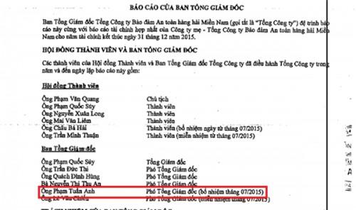 Người bị ông Đinh La Thăng cách chức lại quay về làm Phó TGĐ - Ảnh 1.
