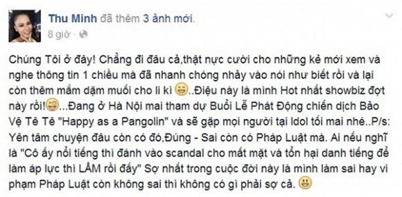 Đòi nợ bằng facebook: Vợ chồng Thu Minh bị tố theo chính cách họ từng làm với C.T Group - Ảnh 2.