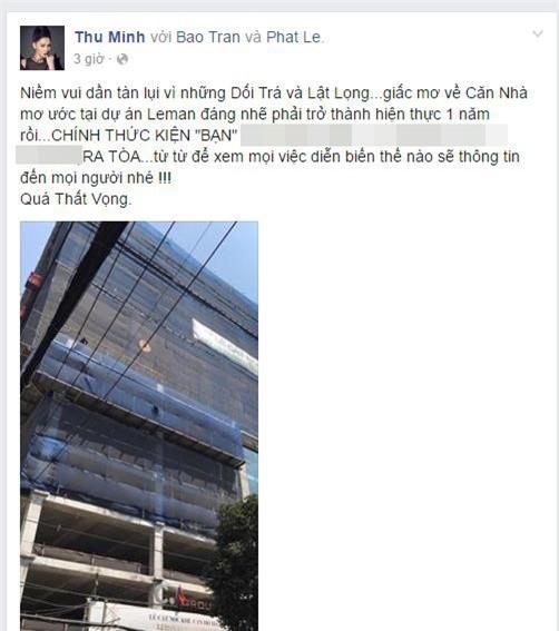 Đòi nợ bằng facebook: Vợ chồng Thu Minh bị tố theo chính cách họ từng làm với C.T Group - Ảnh 4.