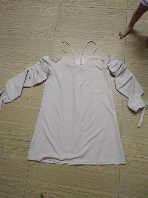 Lại thêm cô nàng mua váy online, nhận về hàng như váy của sản phụ đi đẻ - Ảnh 2.