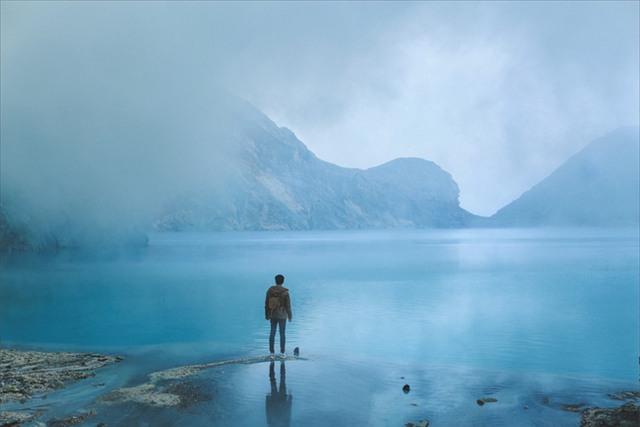 Ở ngay gần Việt Nam thôi, bạn có thể trải nghiệm cảm giác săn mây trên đỉnh núi lửa! - Ảnh 13.
