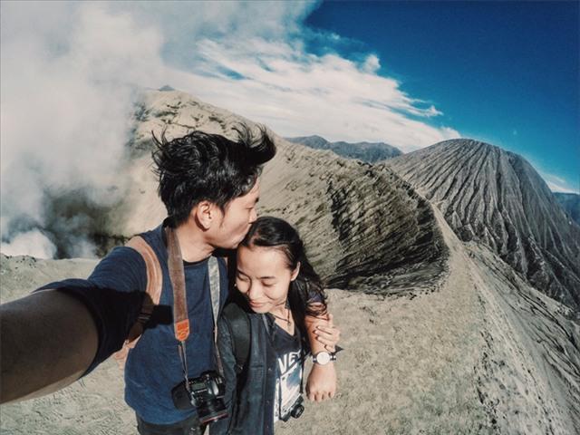 Ở ngay gần Việt Nam thôi, bạn có thể trải nghiệm cảm giác săn mây trên đỉnh núi lửa! - Ảnh 21.