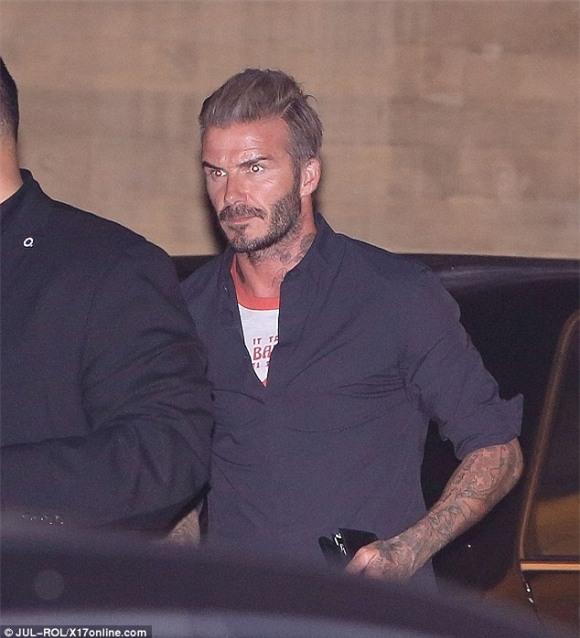Beckham lộ hình xăm mới  3