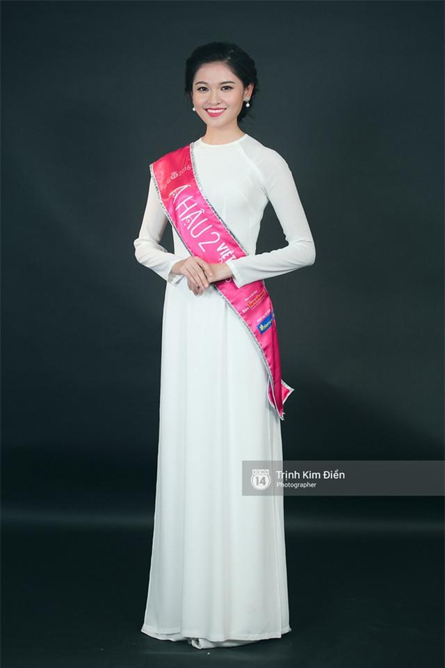 Ngẩn ngơ ngắm Hoa hậu Đỗ Mỹ Linh và 2 Á hậu Thanh Tú - Thùy Dung trong tà Áo dài trắng! - Ảnh 5.