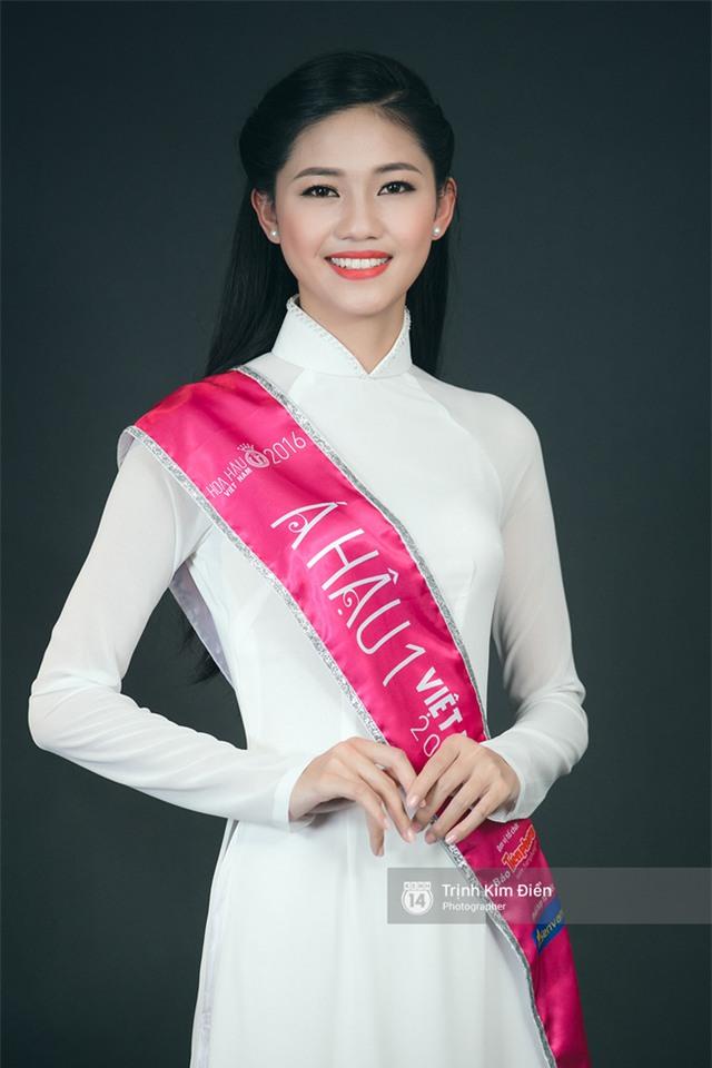 Ngẩn ngơ ngắm Hoa hậu Đỗ Mỹ Linh và 2 Á hậu Thanh Tú - Thùy Dung trong tà Áo dài trắng! - Ảnh 6.