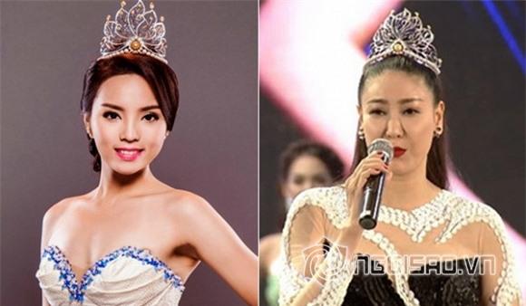 Hà Kiều Anh đội vương miện của Hoa hậu Kỳ Duyên 2