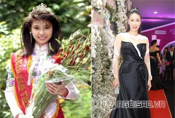 Hà Kiều Anh đội vương miện của Hoa hậu Kỳ Duyên 1