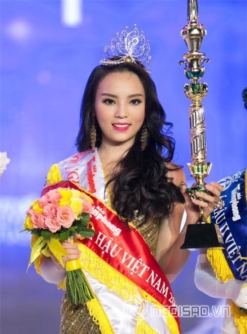 Hình ảnh các Hoa hậu lúc đăng quang được cho là kém xinh hơn cả Mỹ Linh 12