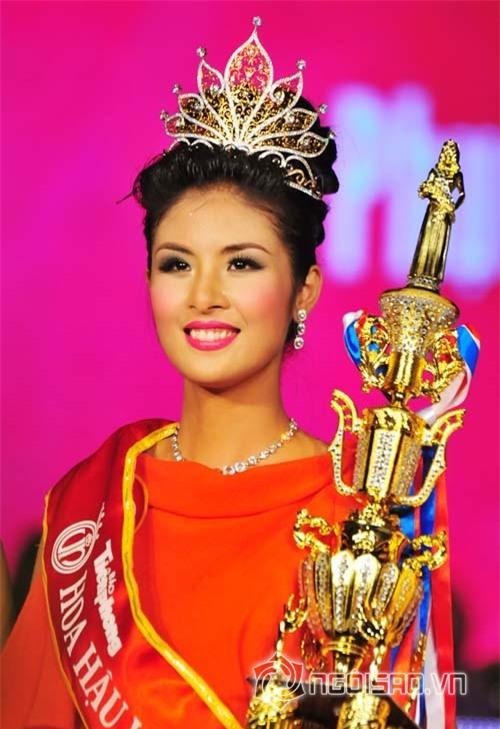 Hình ảnh các Hoa hậu lúc đăng quang được cho là kém xinh hơn cả Mỹ Linh 14