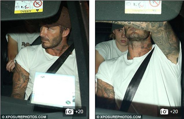 Brooklyn ủ rũ đi chơi cùng bố Beckham sau khi chia tay Chloe Moretz - Ảnh 6.