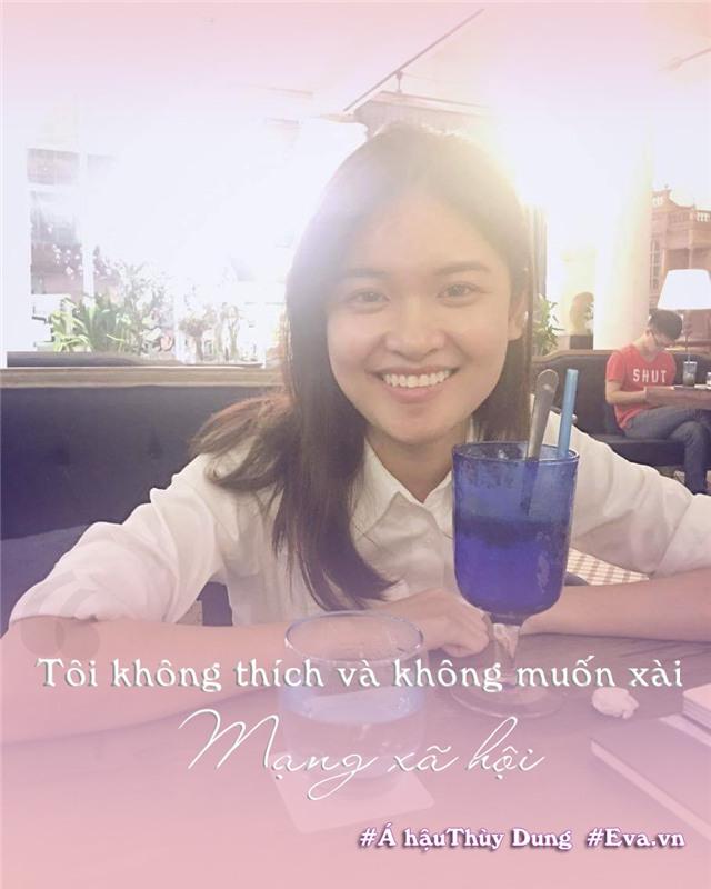 """thuy dung: a hau """"nguoc doi"""" thich di xe may, khong mxh, khong biet den mua sam - 3"""