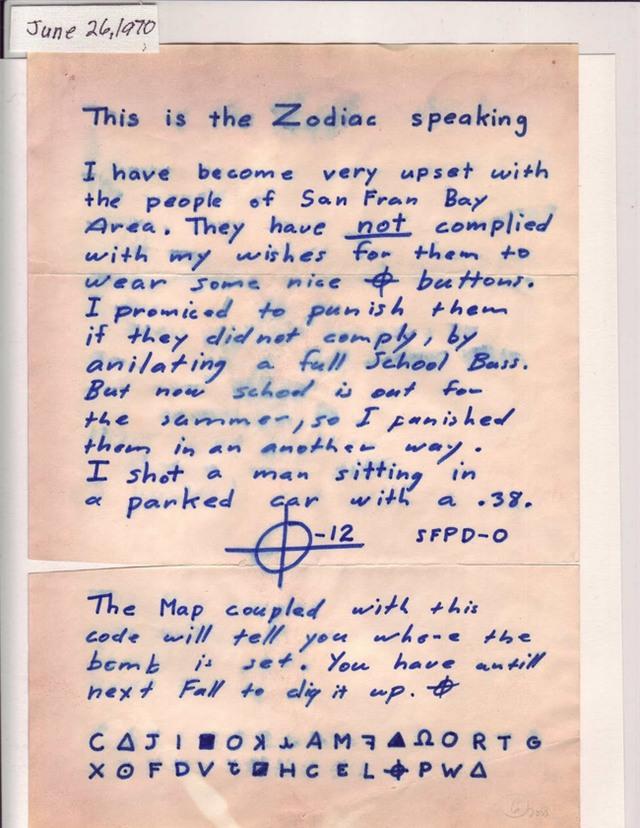 Sát nhân Zodiac: kẻ giết người hàng loạt bí ẩn nhất lịch sử - Ảnh 3.